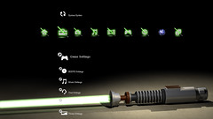 Free Star Wars Luke Skywalker Lightsaber PS3 Theme Preview