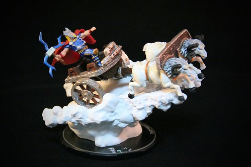 Marvel HeroClix Hammer of Thor #061 Thor's Mighty Chariot