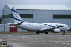4X-EKC - 29959 - El Al Israel Airlines - Boeing 737-858 - 110114 - Luton - Steven Gray - IMG_7895