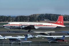 C-FCZZ  DC-6B  NORTHWEST TERRITORIAL AIR (caz.caswell) Tags: northwest air nwt territorial dc6 yeg c118 r6d cfczz