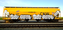 Civ Bobkat (TheHarshTruthOfTheCameraEye) Tags: california train graffiti northern freight civ ftl benching bobkat bkat