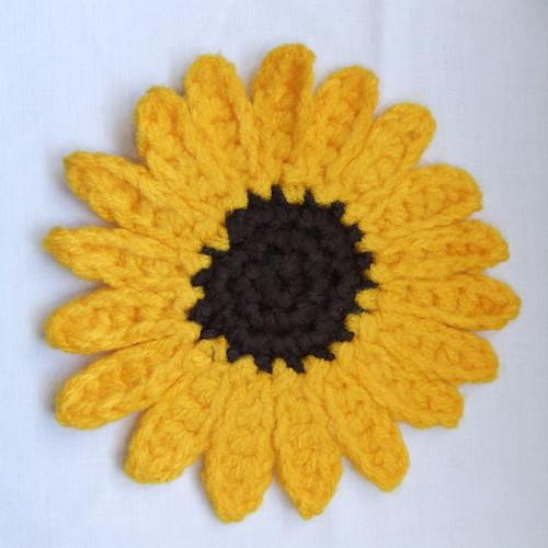 Free Sunflower Crochet Patterns Easy Crochet Patterns