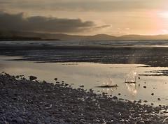 Sunset Splash (Fields of View) Tags: sunset beach water rock wales canon splash pensarn canonefs1855mmf3556 canoneos1000d fieldsofview timfields