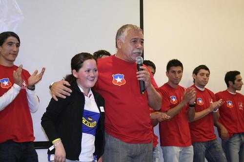 Deportistas por un Sueño en la Fundación Diabetes Juvenil de Chile