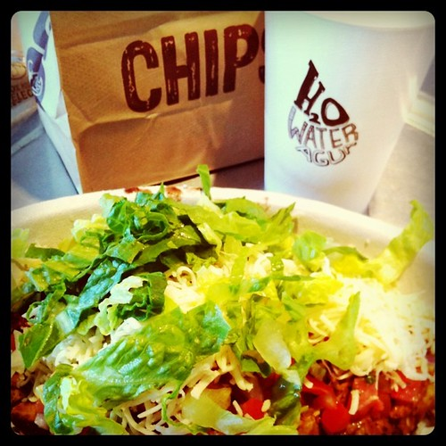 Project 365 116/365: Lunchtime at Chipotle!