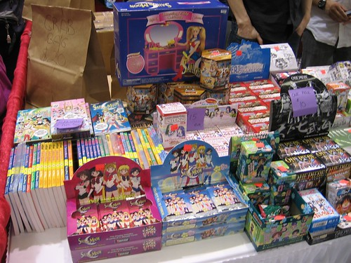 Sailor Moon Merchandise at Sakura Con 2011 by Lanisatu