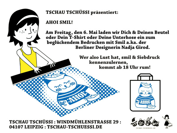 smil in Leipzig