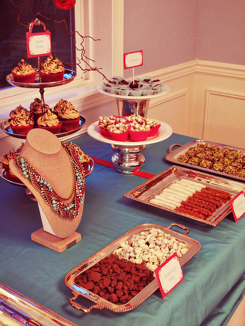 Stella & Dot Sweet n Salty Dessert Table #4