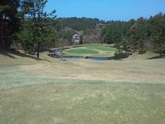 ゴルフラウンド6回目:芦原ゴルフクラブは64+70=134