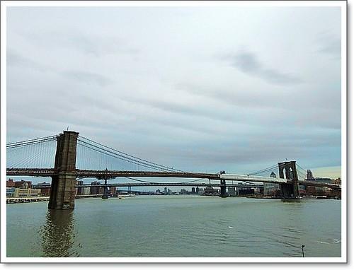Brooklyn and Manhattan Bridge