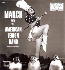 Birds in the Band (Easy Wind Gallery) Tags: birds women florida albums americana whimsical albumcovers ftpierce drummajorette
