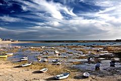 La Caleta (Cdiz) (Kaosjsi) Tags: espaa atardecer spain playa andalucia explore cadiz hdr lacaleta colorphotoaward bestcapturesaoi kaosjsi artistoftheyearlevel4