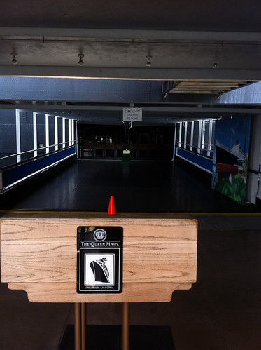 Queen Mary - Gangway to Museum