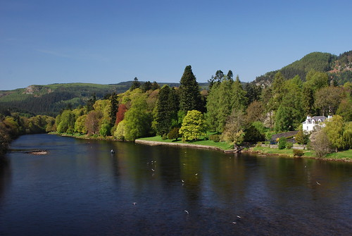 The Tay above Dunkeld