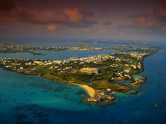 58196 (Steve Loop) Tags: ocean morning travel sunset water sunrise outdoors evening aerialview nobody northamerica bermuda stgeorge atlanticocean marinescenes viewfromabove northatlanticocean atlanticislands stgeorgesisland stgeorgesparish bermudaislands