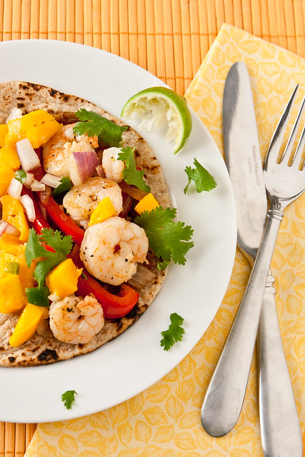Gulf Coast Shrimp Quesadillas or Tacos
