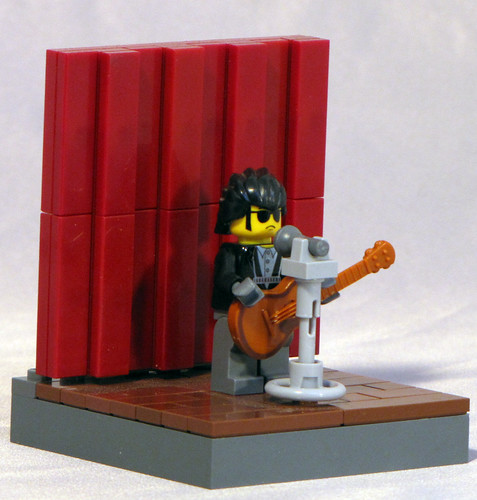 Custom minifig Dylan on stage 2