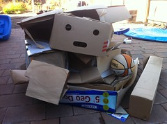 Cardboard pile cardboard is melancholy (mathowie) Tags: iphone