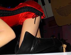 Danbo perving again (Jody Walmsley) Tags: woman danbo revoltech danboard