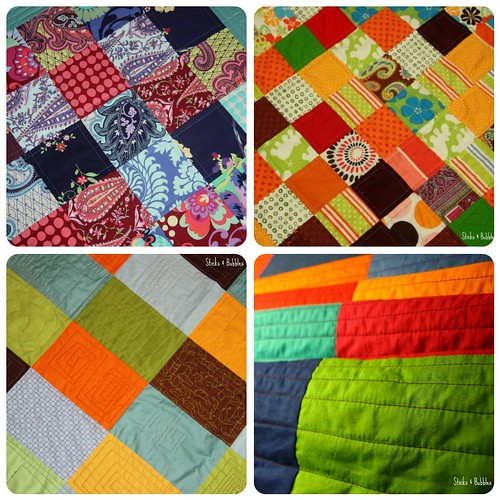 strong colours quilts