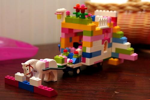 lego gypsy caravan