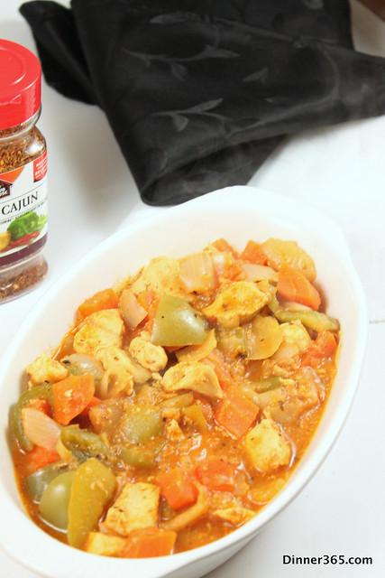 Day 123 - Cajun Chicken Stew
