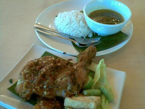 Saya Bukan Penggemar Nasi Ayam Penyet by herneesamshudin