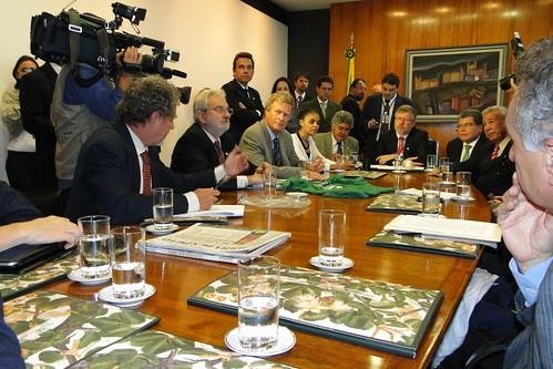 04-05-2011 Reunião do Presidente Marco Maia com o a Bancada do Partido Verde e Ambientalistas by Frente Parlamentar Ambientalista