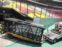 Tercer día de montaje - Estadio Azteca 23