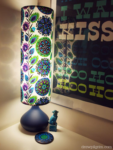 retro revival lampshade