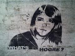 What's Hogre? (Smeerch) Tags: italy streetart stencils rome roma art graffiti stencil arte whats graffito aerosolart artedistrada hogre