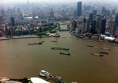 (michel banabila) Tags: china river boat shanghai harbour sh1