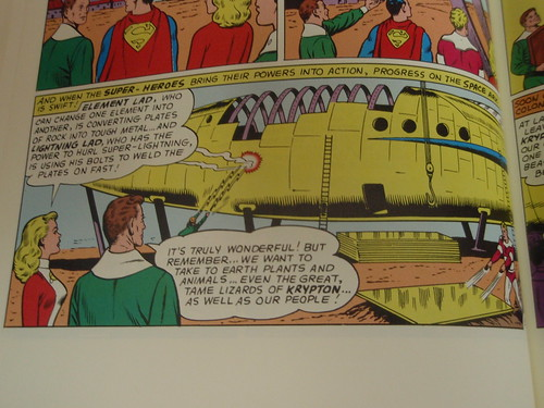 kryptonian space ark