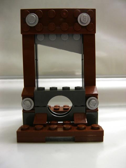 So much better - New custom Lego guillotine blade revealed ...