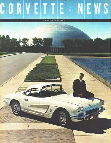 Corvette News Cover With Shepard