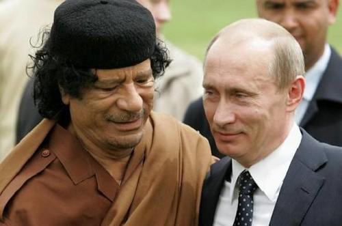 利比亚人致普京总理的一封信