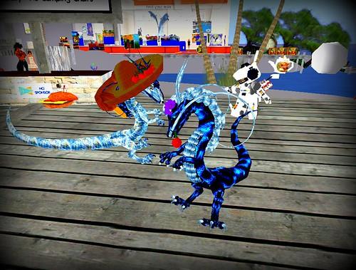 dragon dancin