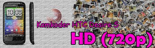 Banner kamkoder HTC Desire S