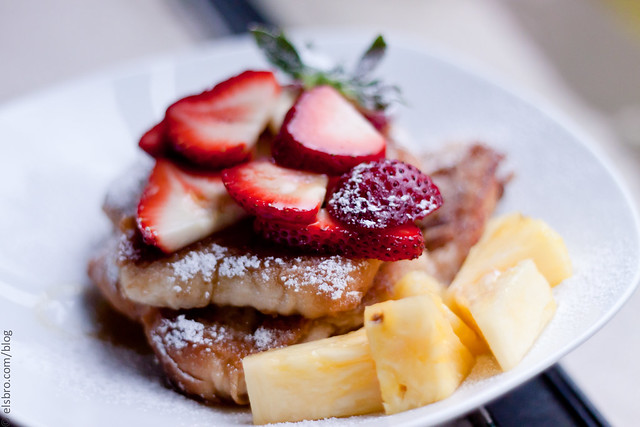 Strawberry & Pineapple French Toast