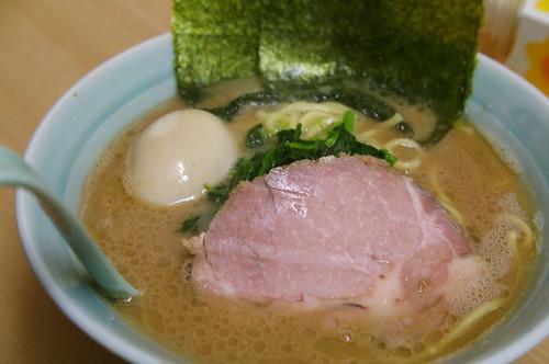 味玉ラーメン@武蔵家
