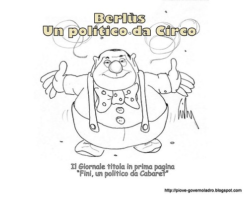 Berlùs, un politico da Circo by Livio Bonino