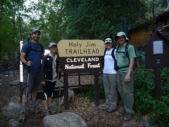 P1010268 holy jim trailhead noel ann linda randy Photo