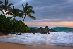 Maui Twlight (mojo2u) Tags: sunset beach hawaii secretbeach maui pacificocean makena nikond700 nikon28300mm