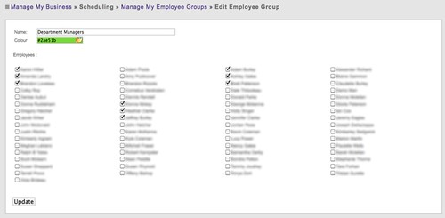 Grouping By Employees - Step 1