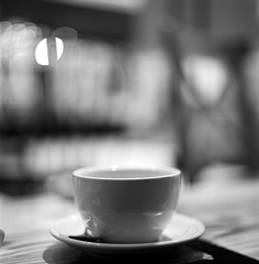 (ricky nyhoff) Tags: blackandwhite 120 6x6 cup coffee square hongkong kodak trix hasselblad 400 mug medium format 500cm 80mm28