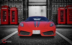 Ferrari F430 Scuderia | The Red Dragon (Tareq Abuhajjaj | Photography & Design) Tags: light red bw moon white black green cars car sport night race speed dark photography lights design photo high nice nikon flickr italia power top fast gear ferrari turbo saudi arabia manual carbon fiber rims riyadh scuderia v8  2010 f430 ksa tareq    alreem     d700      foilacar tareqdesigncom tareqmoon tareqdesign  abuhajjaj