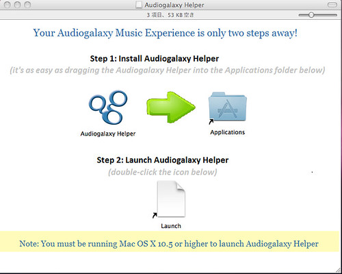 Audiogalaxy Helper