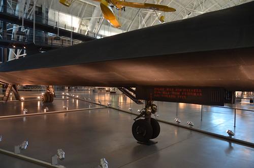 Steven F. Udvar-Hazy Center: SR-71 Blackbird (starboard profile ...