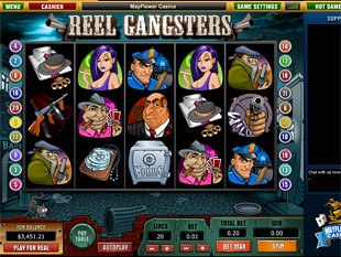 Reel Gangsters slot game online review