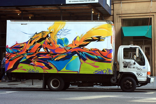 NYC Truck by LoisInWonderland